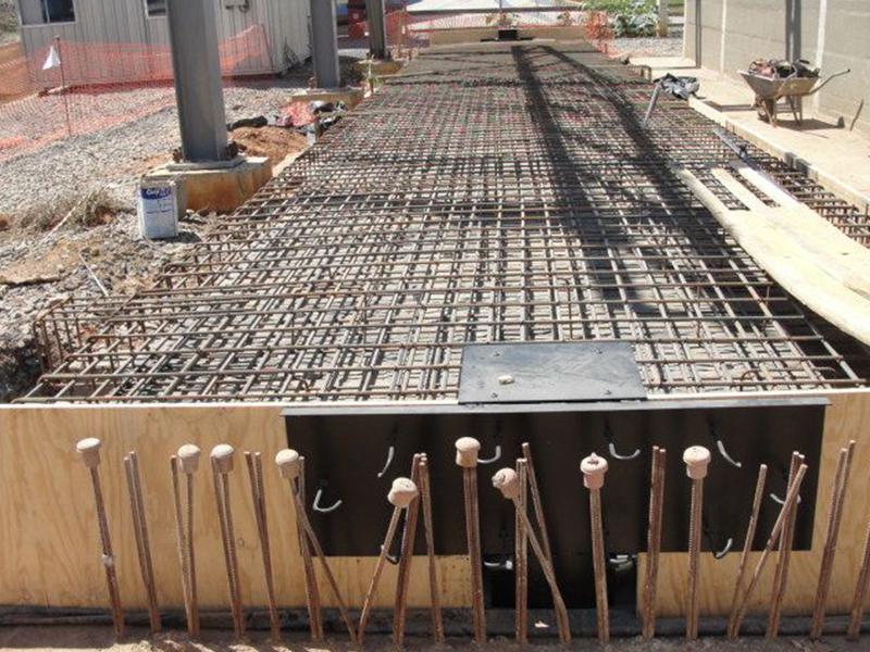 Recuperação em estrutura de concreto da empresa CSN