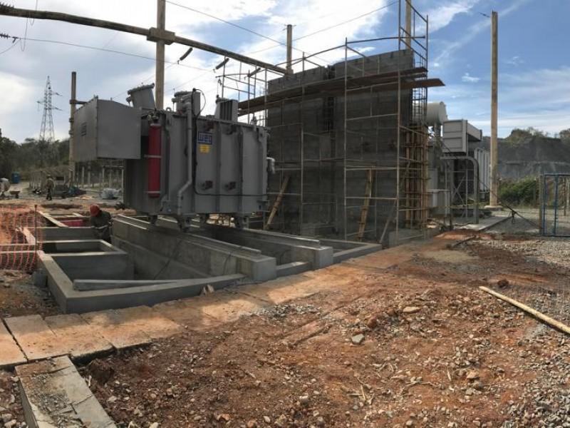 Execução de obras civis para Ampliação Subestação e Bases diversas | 2018